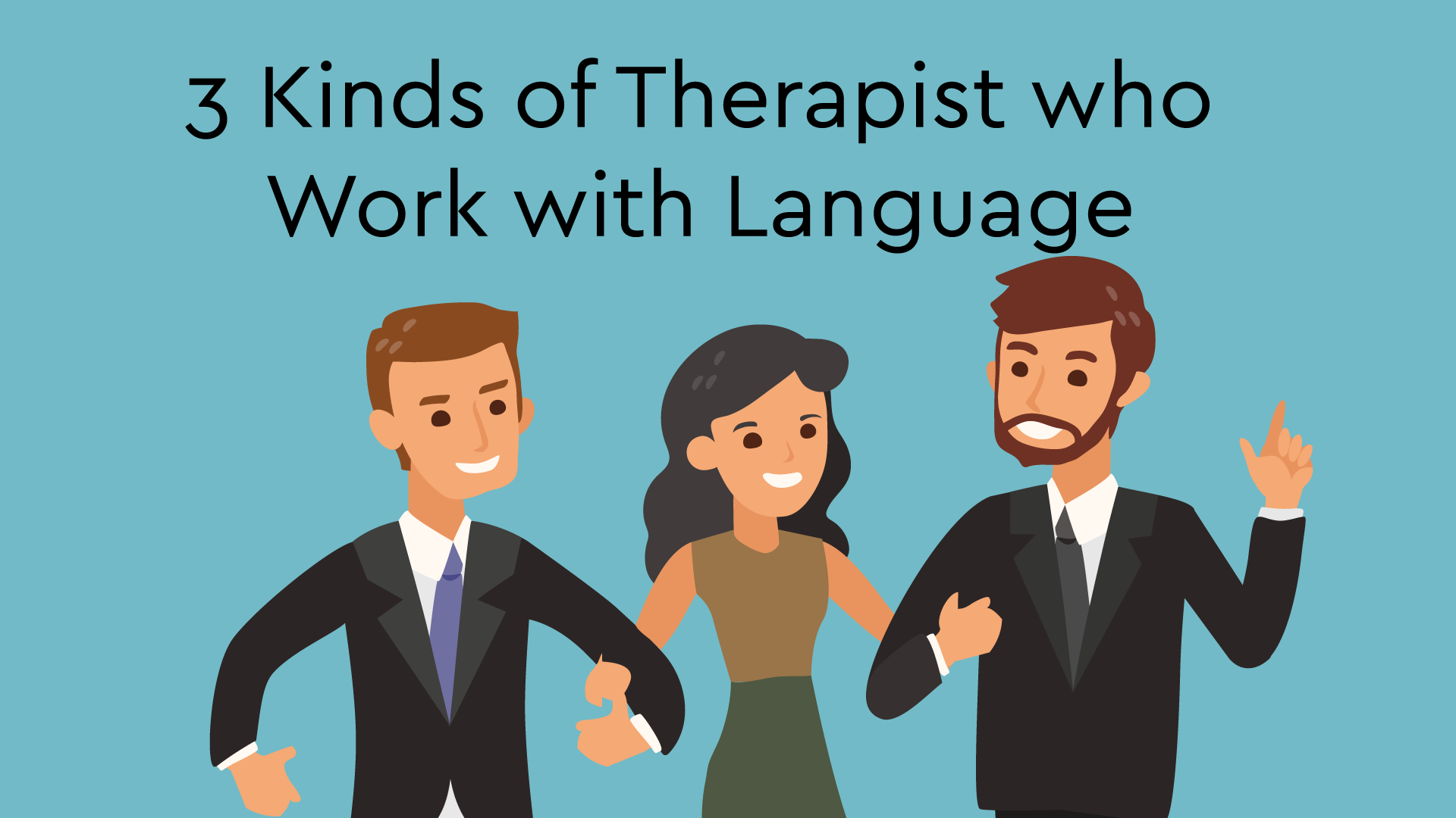 therapists who work with language