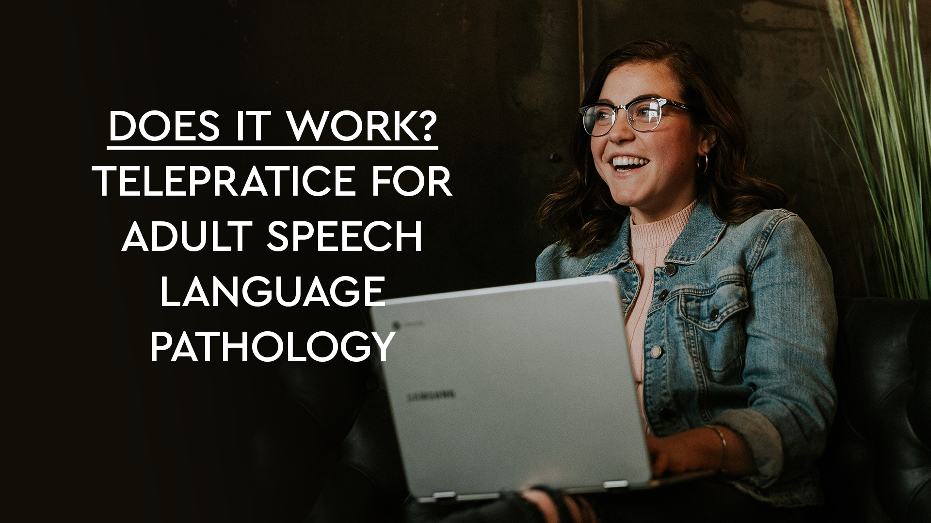 Telepractice for Adult Speech Language Pathology
