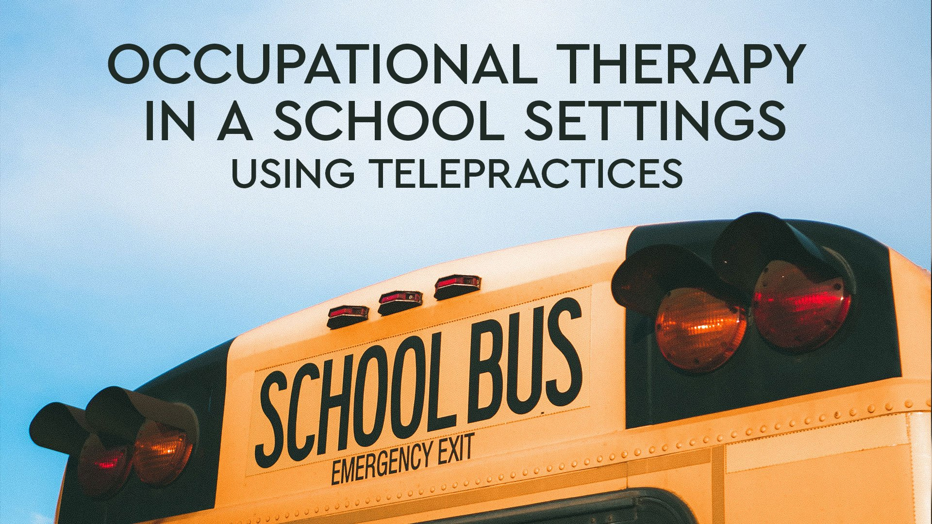 occupational therapist in schools