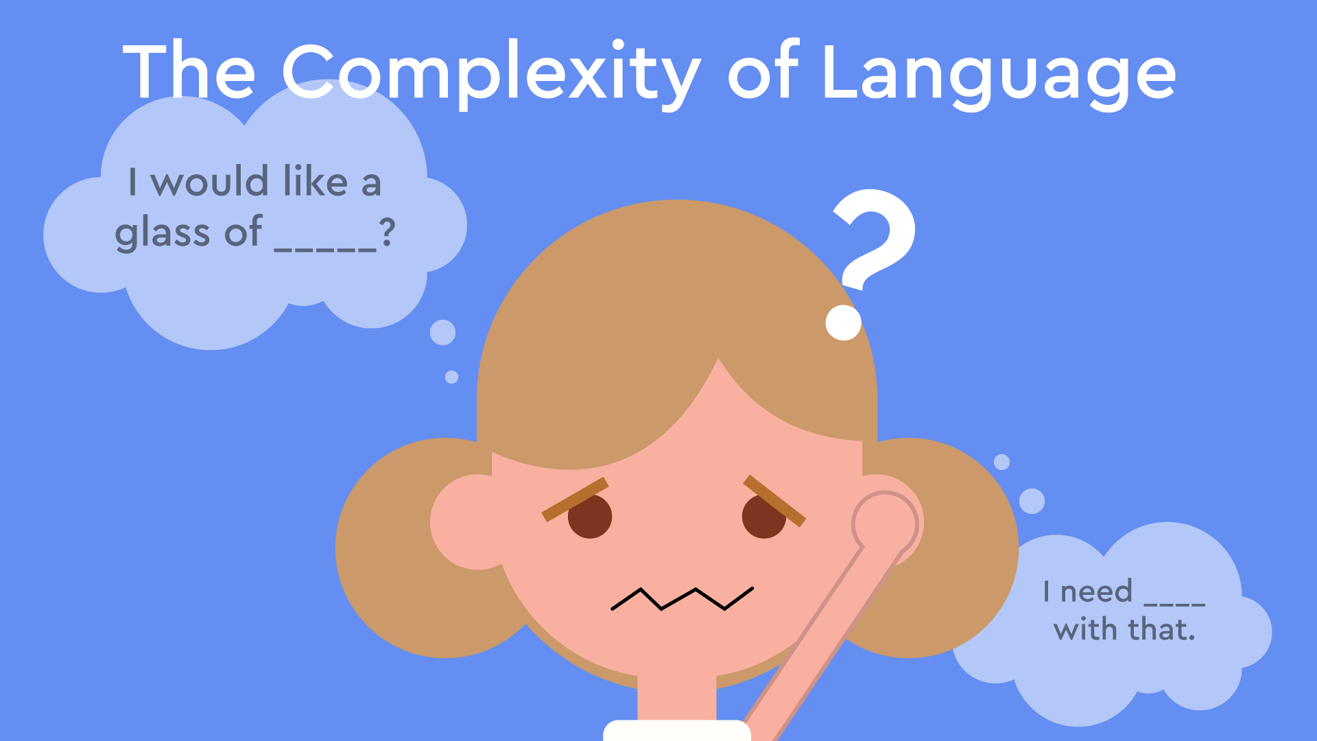 complexity of language